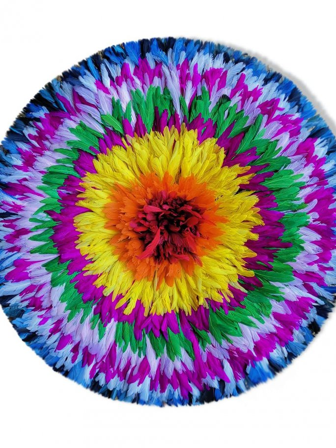 Grand juju hat 80 cm multicolore